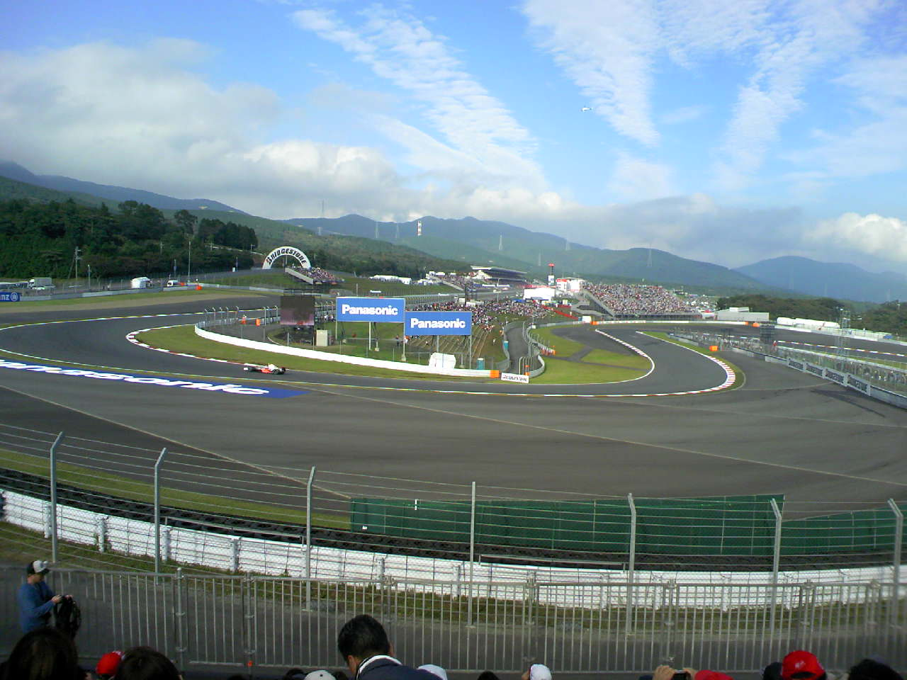 2008 F1 Japanese Grand Prix Free 2nd day