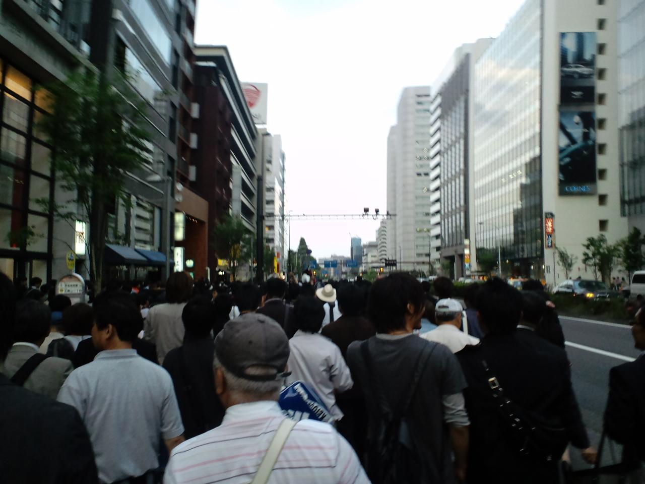 パレード〜青山通り