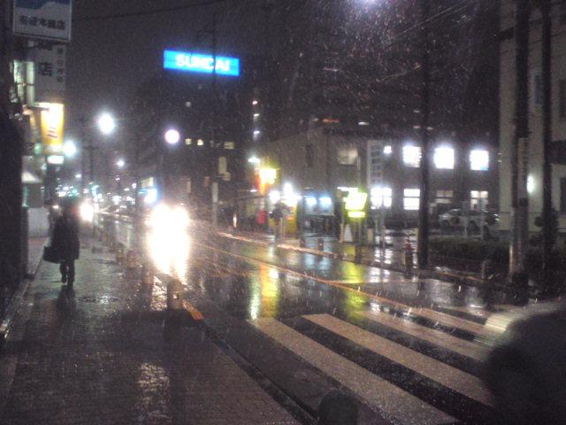 町田街道冬景色