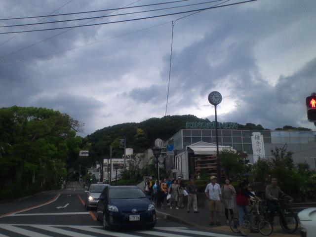 鎌倉に着きました